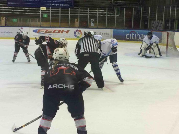 Hockey Hielo Femenino (fotos): SAD Majadahonda doblega la eficacia defensiva de Txuri Urdin (4-1)