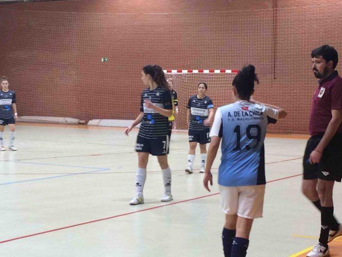 Fútbol sala femenino: 3 palos, 3 penaltys y 3 fallos arbitrales hacen caer al Majadahonda ante Alicante (3-4)