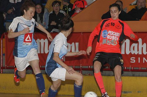Fútbol Sala Femenino: Majadahonda sale viva del infierno de Burela y se trae un punto (4-4)