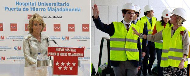 La Gurtel cobró 7.800 € por organizar una visita de Esperanza Aguirre al Puerta de Hierro Majadahonda