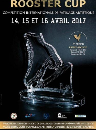 "Hielo: 4 patinadores de Majadahonda representan a España este fin de semana en la ""Rooster Cup"" de París"