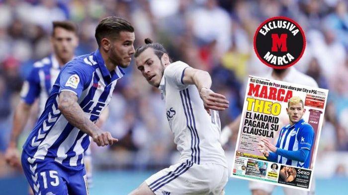 """Real Madrid ficha a Theo (At. Madrid): """"Jugué en el Rayo Majadahonda y doy gracias a mi madre"""""""