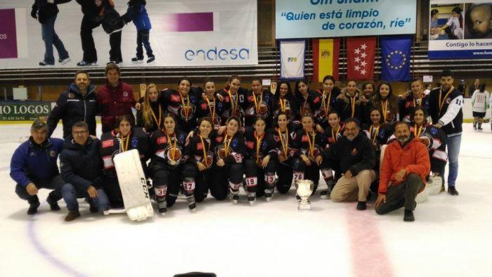 Hockey hielo femenino: Majadahonda se corona campeona de España tras doblegar al Sumendi por 6-1 en la final