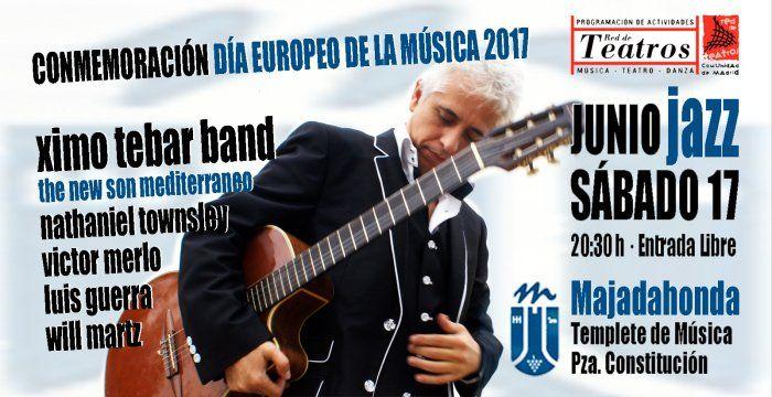 Día de la Música en Majadahonda: Orquesta, Ximo Tébar y la guitarra rock de Coque Fernández