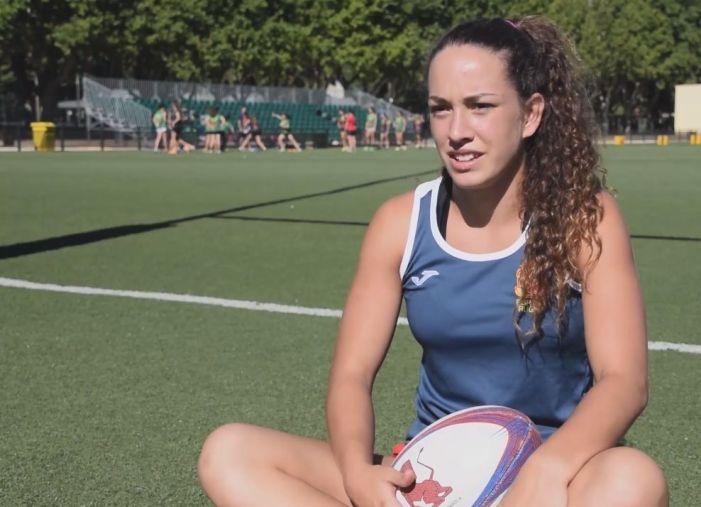 Rugby Majadahonda: María García Gala, la jugadora internacional que ganaba a los chicos y quiere ser bombero