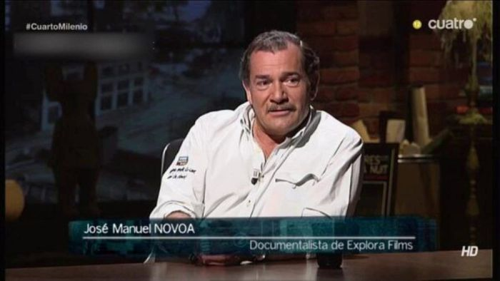 """""""Cuarto Milenio"""": Funeral en Majadahonda por el antropólogo y periodista """"viajero"""" José Manuel Novoa"""