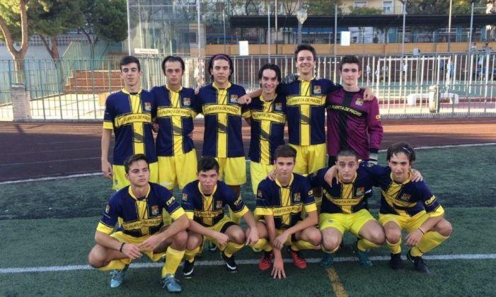 Fútbol: CD Puerta Madrid (Majadahonda) vence en Pozuelo (3-6) al Cluny en una épica remontada
