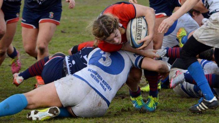 """Rugby Femenino: el otro derbi se juega en Majadahonda entre las """"Rhinas"""" y el Olímpico Pozuelo"""