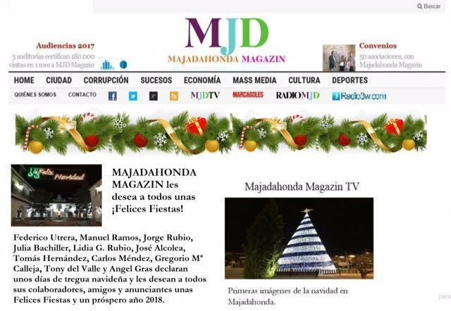 "MJD Magazin declara ""tregua navideña"" y desea a tod@s ¡Feliz Navidad 2017!"