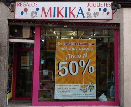 La tienda de juguetes Mikika Majadahonda ofrece un 50% de descuento antes de pasar a ser Toy Planet
