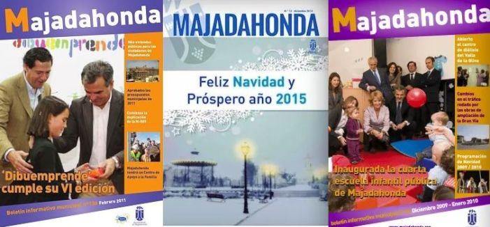 """""""La revista en papel de los partidos en Majadahonda da la risa"""": 135.000 €/año"""