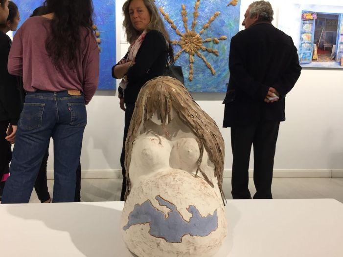 El mundo del arte celebra en Majadahonda la original exposición de 15 mujeres
