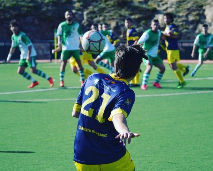 Protagonistas Fútbol Majadahonda: Rayo Majadahonda, FSF, Puerta de Madrid, K2, Peña Godín y Simone Grippo