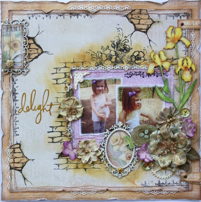 Spring layout by Gabrielle