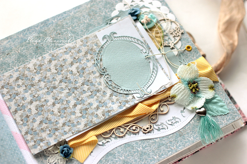 Floral Handmade Album by Elena Olinevich 4