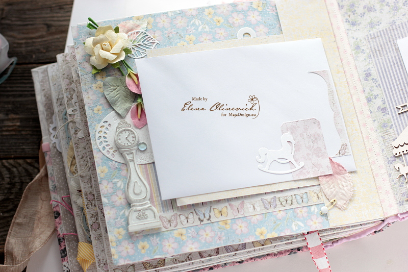 Floral Handmade Album by Elena Olinevich 9