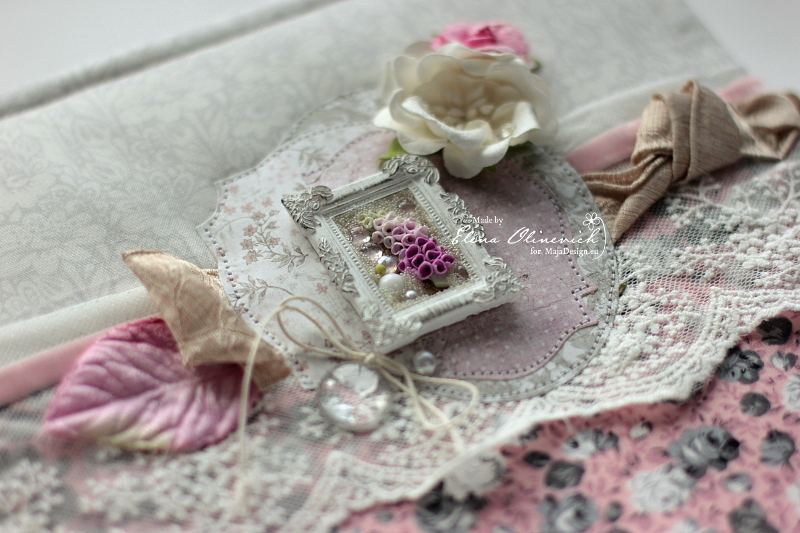 Floral Handmade Album by Elena Olinevich sneak