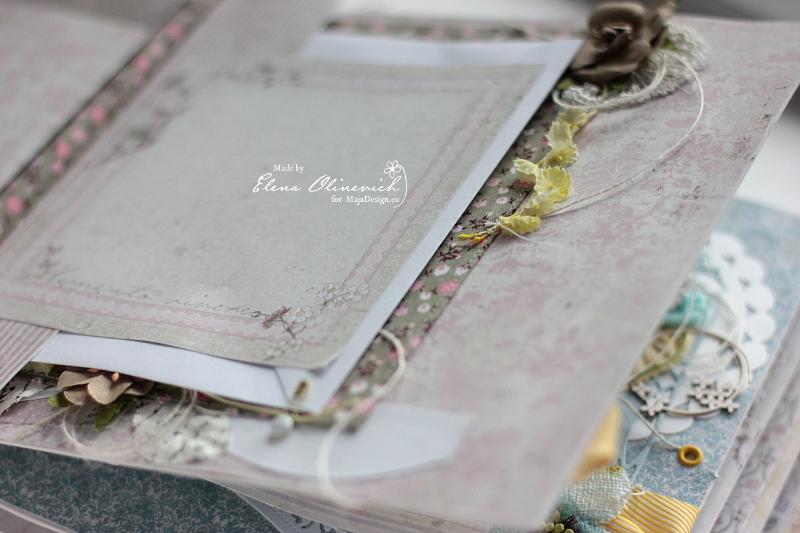 Floral Handmade Album by Elena Olinevich sneak1