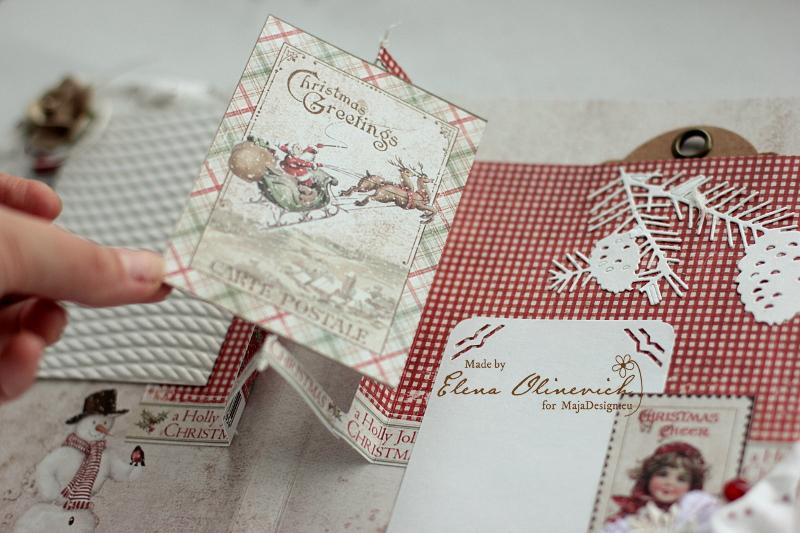 Winter is Magic Mini Album, by Elena Olinevich, Maja Design, photo6