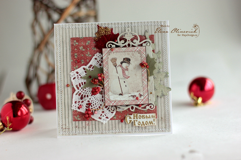 ChristmasCard_Snowman_ElenaOlinevich