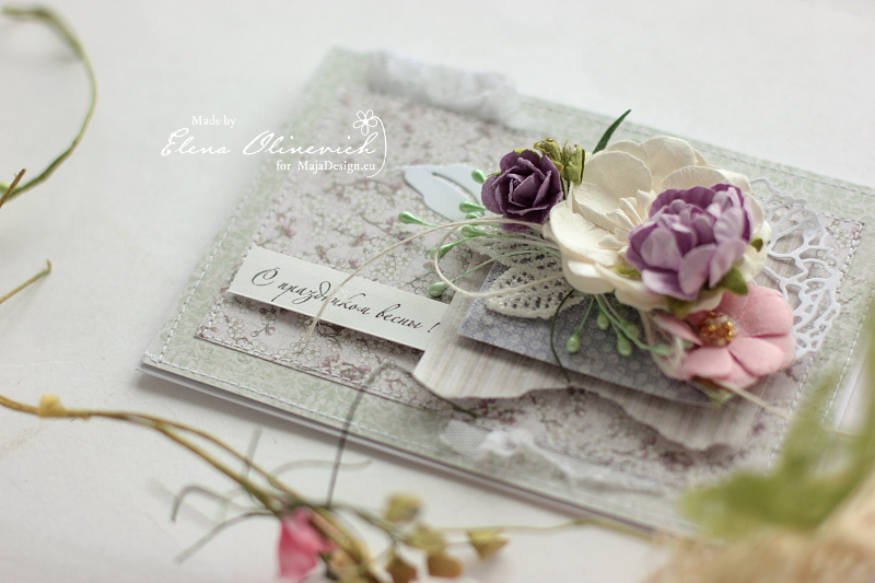 Spring Card by Elena Olinevich for Maja Design2a