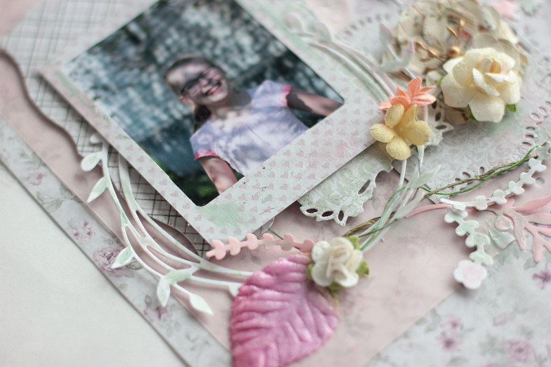 Spring Layout with Maja Design and Spellbinders2