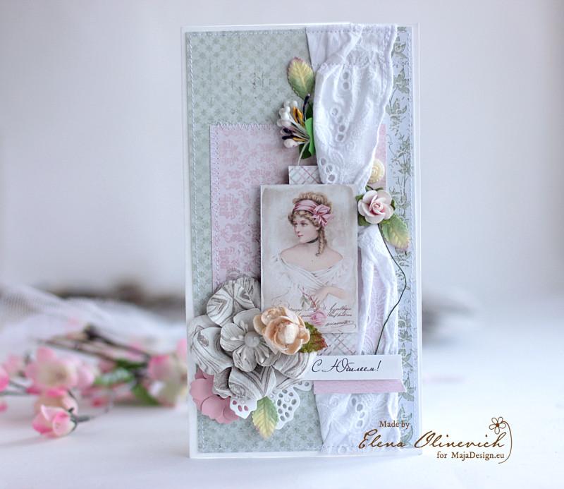 Anniversary_Shabby_Card_Maja_Design_By_Elena_Olinevich
