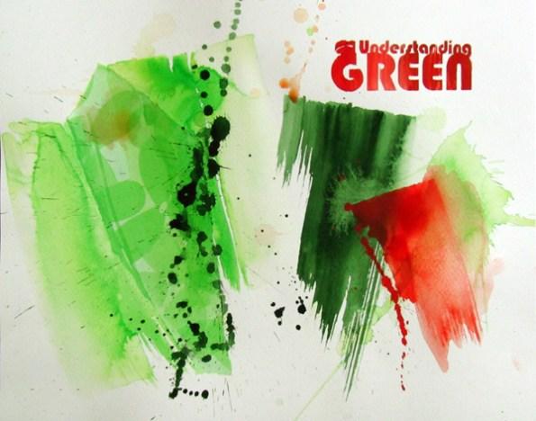 UNDERSTANDING GREEN, 30 x 40 cm