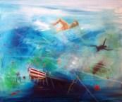 LETNJE RADOSTI 04, 50 x 60 cm, 2017