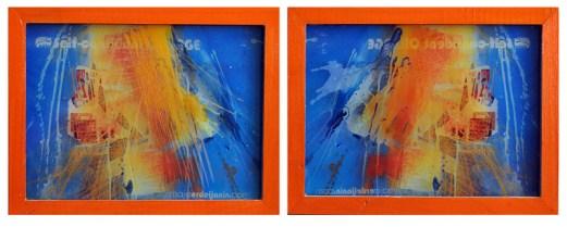 SELF-CONFIDENT ORANGE, 20 x 30 cm