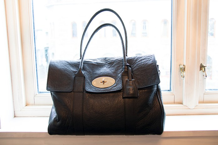 3 year old black buffalo skin Mulberry Heritage Bayswater