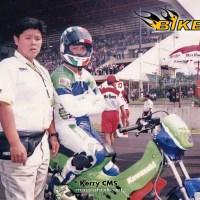 Kawasaki Leo 120 2 tak underbone CMS VS Motorsport 150 2 tak tune-up jalanan.....seperti apa ? simak berikut ini...