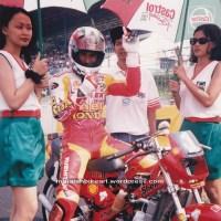 Jaman kejayaan Era motor 2 tak...waktu tercepat 1.48detik Honda Dash 125cc