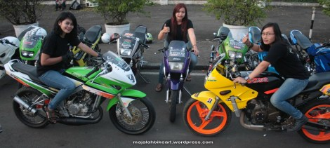Lady Bikers SSR KRR Lovers