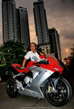 Test ride F3 Mv Agusta