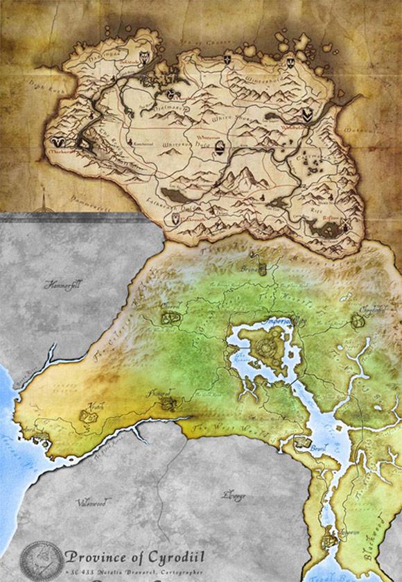 Elder Scrolls 2 Map Size : elder, scrolls, Elder, Scrolls, Comparison, World, Atlas