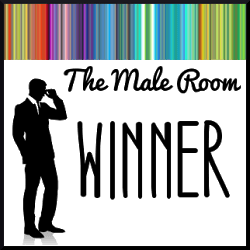 male room winner badge