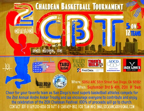 Chaldean Basketball Tournament