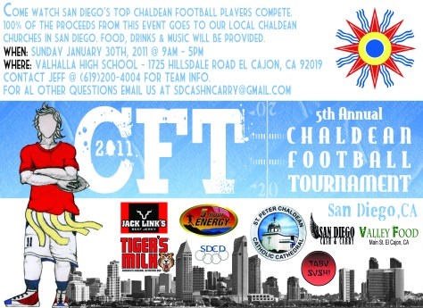 Chaldean Football Tournament