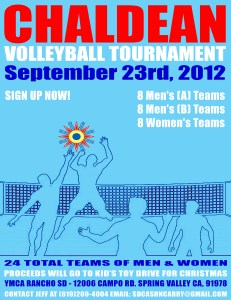 Volleyball Tourn 2012 NEW