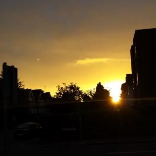 Monday's sunrise