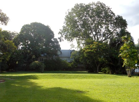 Country club grounds