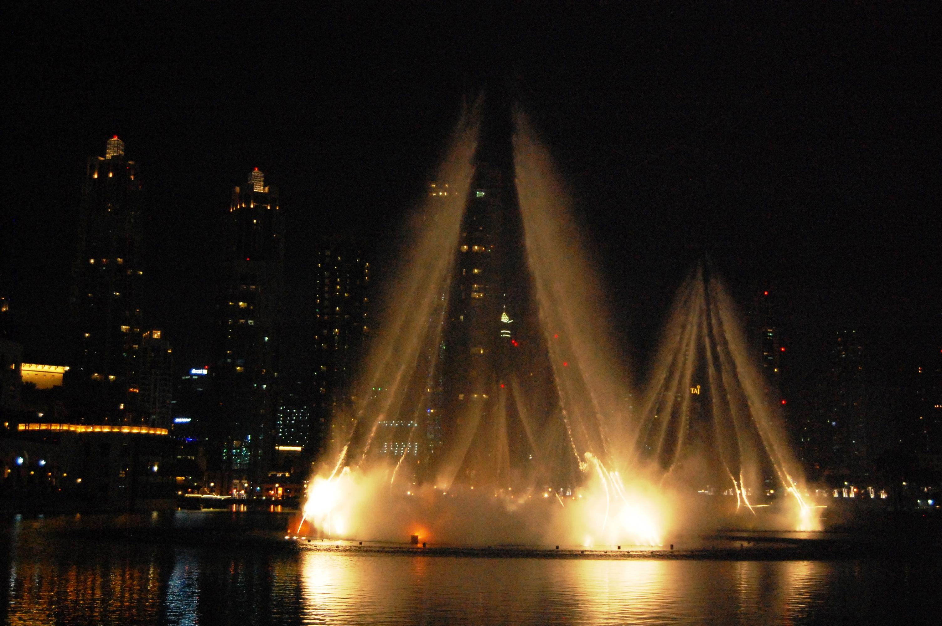 Dubail mall water fountain show