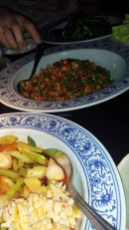 minced chicken, Hutong