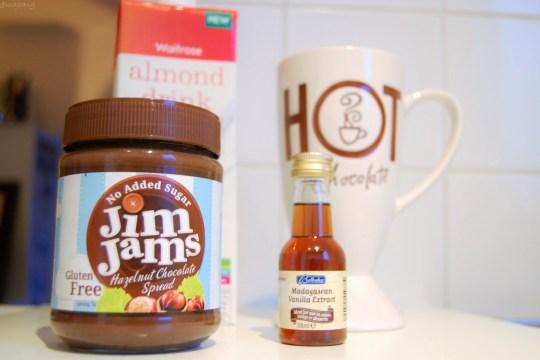 Jim Jams chocolate spread