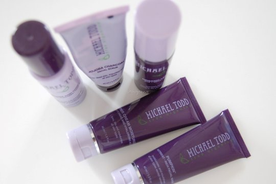 Michael Todd skin care for combination skin