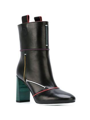 Fendi Piped Trim boots - www.farfetch.com