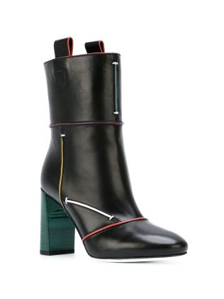 Fendi Piped Trim boots - www.farfetch.com