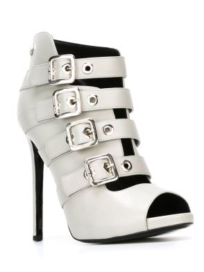 Philipp Plein silverline sandals - www.farfetch.com