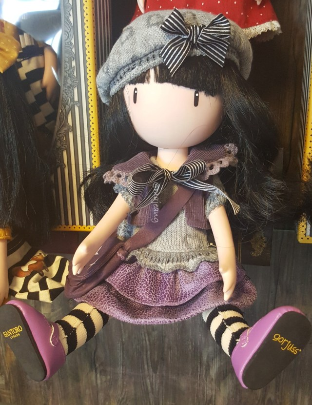 Gorjuss doll from Santoro collection